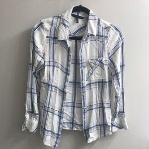 White House Black Market Tops - EUC White House Black Market flannel shirt